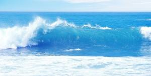 an ocean-wave